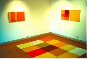 Farbfeldmalerei im Museum