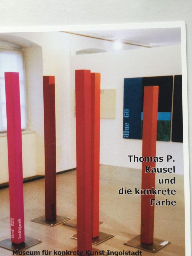Katalog Thomas P. Kausel und die konkrete Farbe