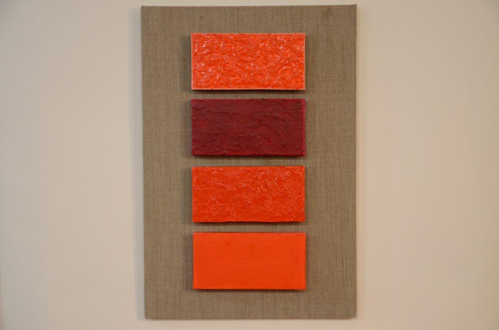 konkrete kunst mit reinen, ungemischten Farben
