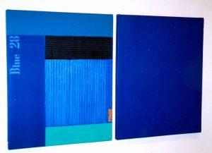 Blaue Gemälde, direkt vom Künstler kaufen