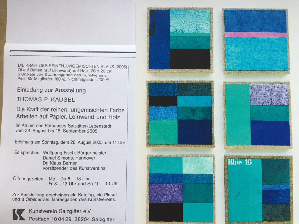 Kunst, Malerei, Bilder im Rathaus Salzgitter