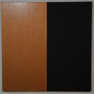 Malerei in gold un schwarz