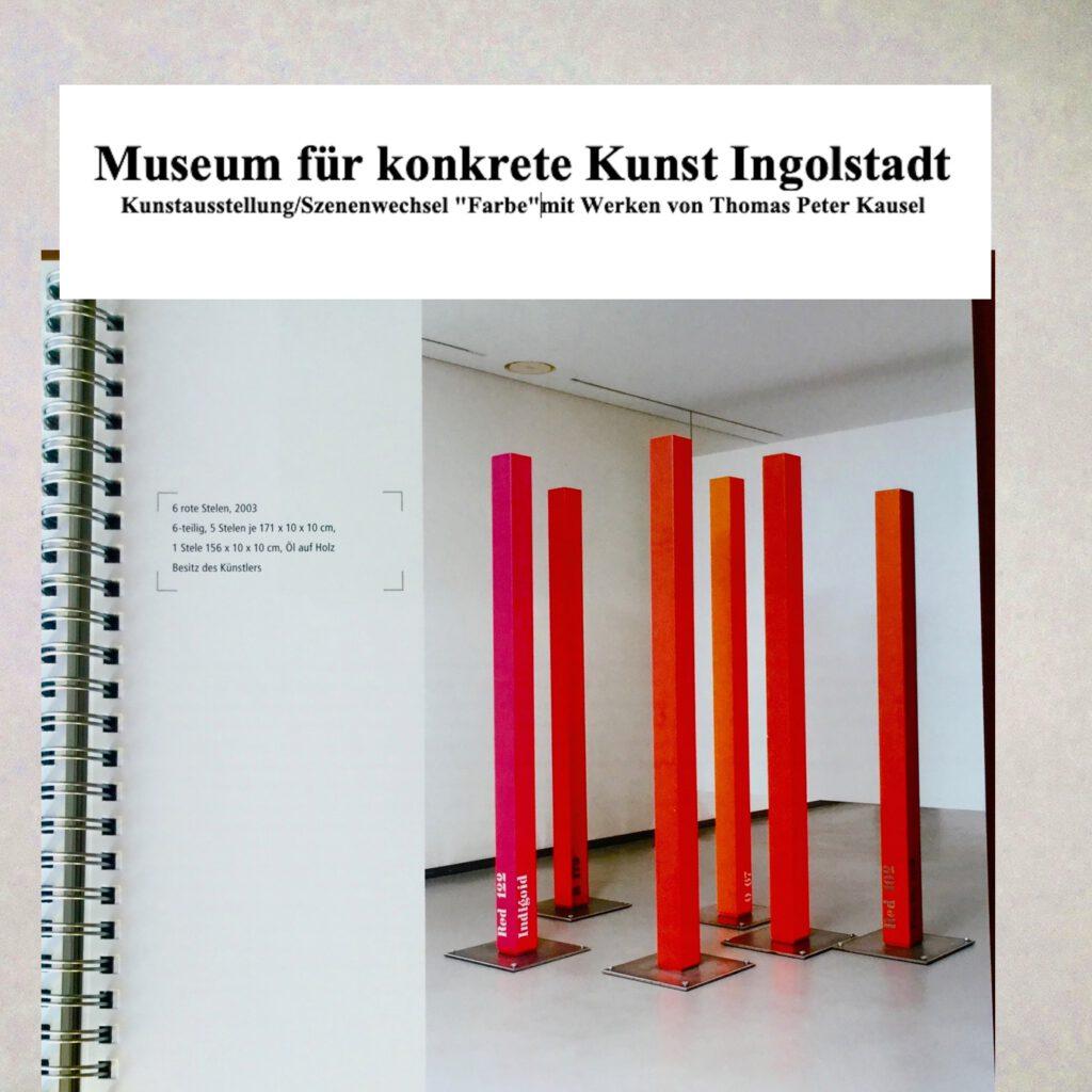 Museum für konkrete Kunst Ingolstadt.