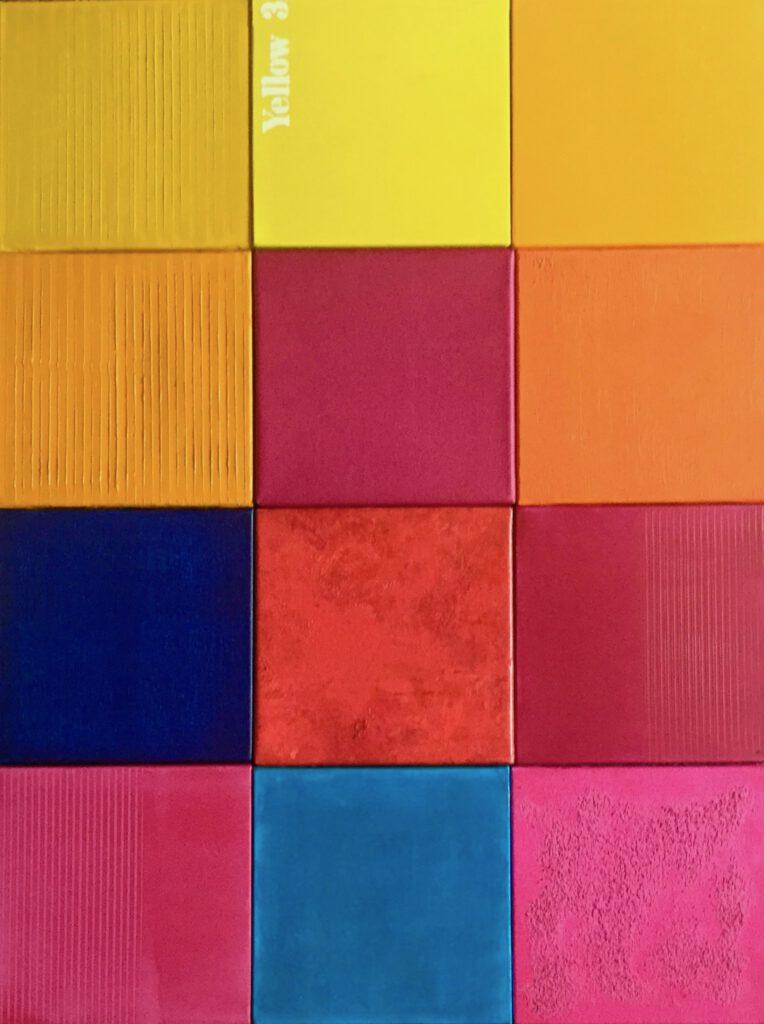 minimal-art, Minimalismus, konkrete Kunst, Farbfeldmalerei