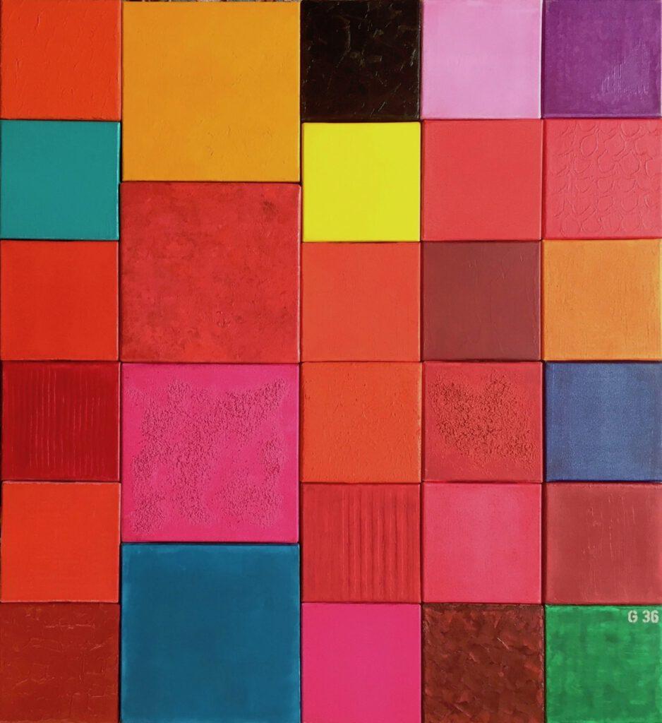 Farbfeldmalerei, minimal-art, Minimalismus