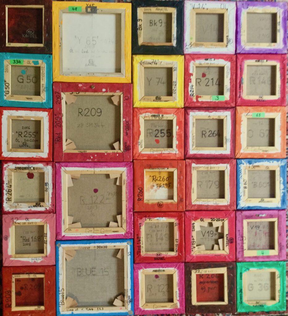 Farbfeldmalerei, Color field painting, minimal-art, Minimalismus