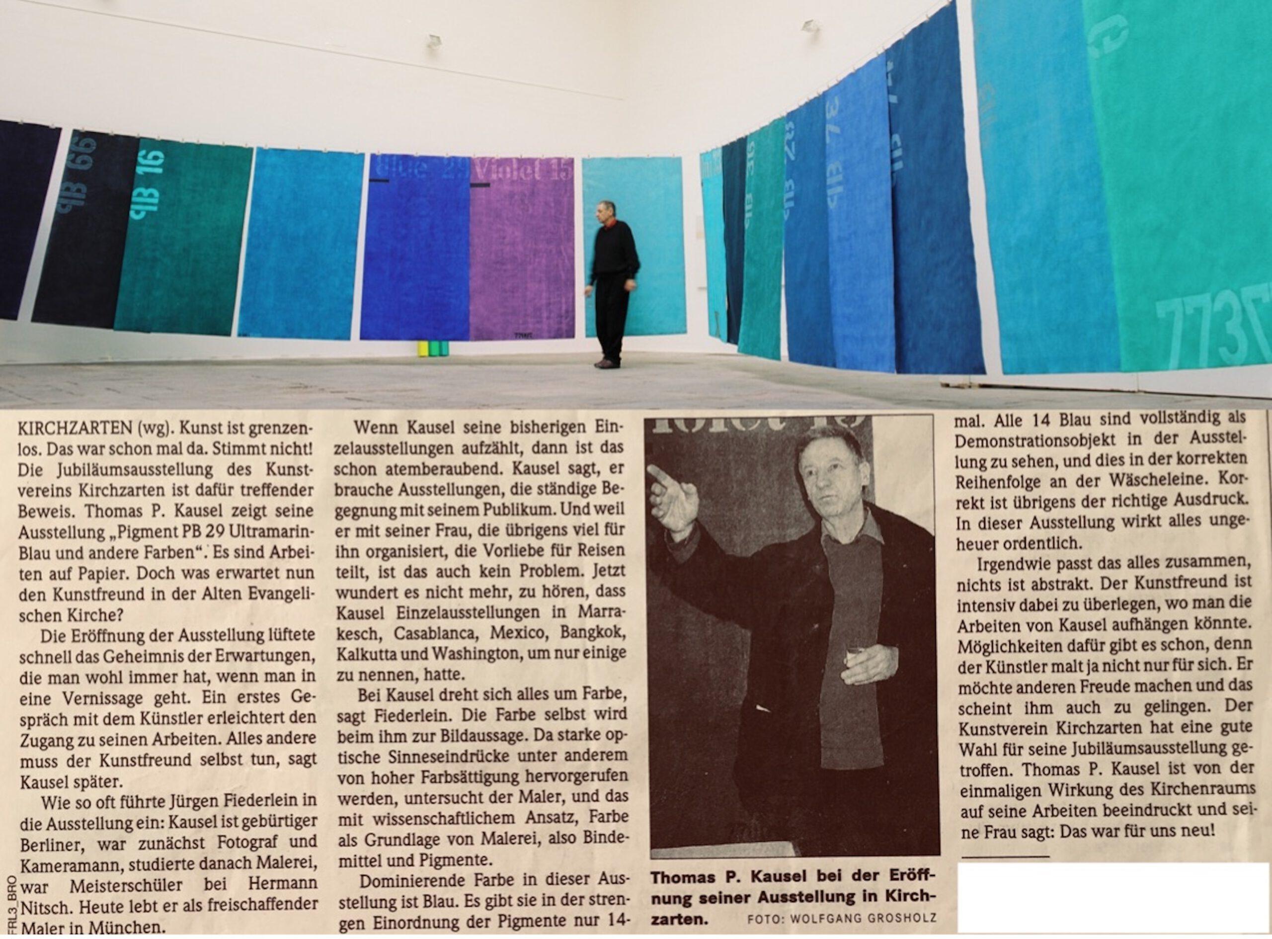 Kunstverein, Einzelausstellung Malerei